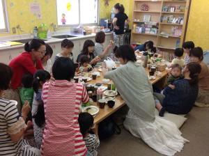 第1回 ままカフェ@こおりやまの様子